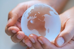hands-and-globe