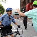 de escalation techniques police